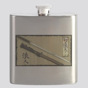 The Blade of the 47 Ronin Flask