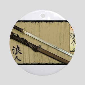 The Blade of the 47 Ronin Ornament (Round)