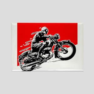 Vintage Motorcycle Racing Magnets