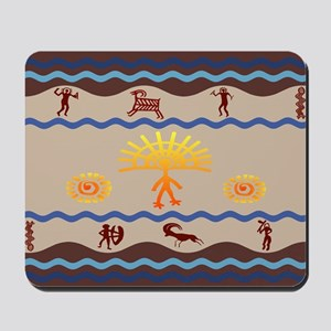 Spirit Path Rock Art Mousepad