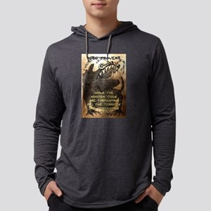 While The Wooden Idols - Igbo Proverb Mens Hooded