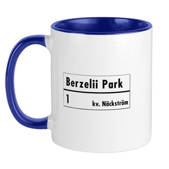 Berzelii Park, Stockholm - Sweden Mug