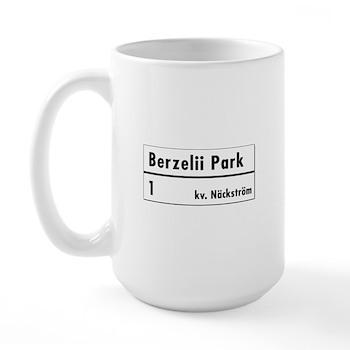 Berzelii Park, Stockholm - Sweden Large Mug