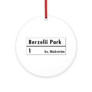 Berzelii Park, Stockholm - Sweden Ornament (Round