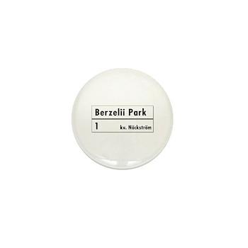 Berzelii Park, Stockholm - Sweden Mini Button
