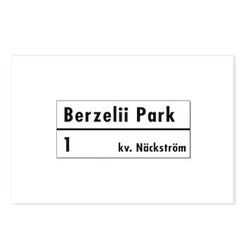 Berzelii Park, Stockholm - Sweden Postcards (Pack
