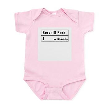 Berzelii Park, Stockholm - Sweden Infant Bodysuit