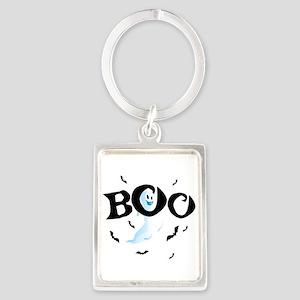 Ghost Boo Portrait Keychain