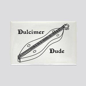 Dulcimer Dude Rectangle Magnet