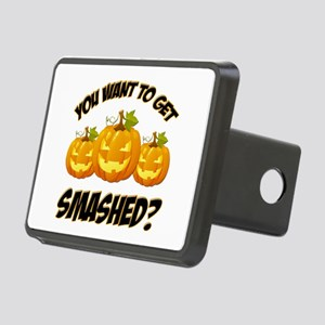 Smashed Happy Halloween Hitch Cover