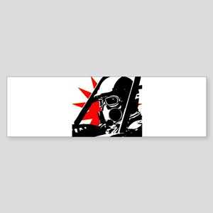 Drag Racer Bumper Sticker