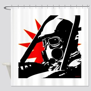 Drag Racer Shower Curtain
