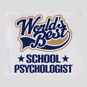 School Psychologist (Worlds Best) Throw Blanket