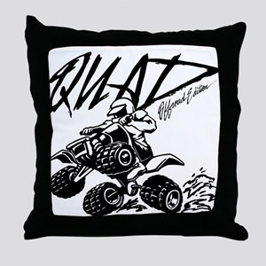 QUAD 4x4 Off Road Edition Throw Pillow