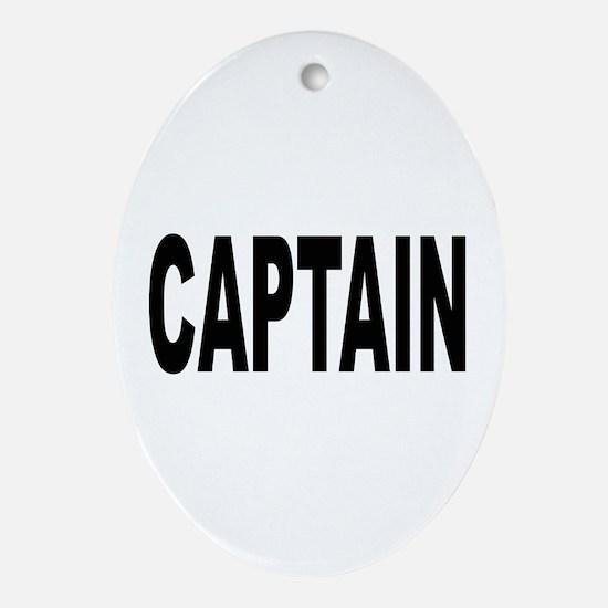 Captain Oval Ornament