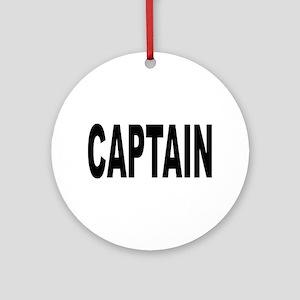 Captain Ornament (Round)