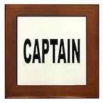 Captain Framed Tile
