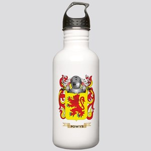 Powys Coat of Arms (Family Crest) Water Bottle