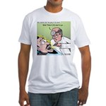 Dracula at the Dentist Fitted T-Shirt