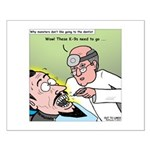 Dracula at the Dentist Small Poster