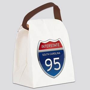 Interstate 95 Canvas Lunch Bag