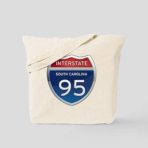 Interstate 95 Tote Bag