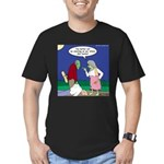 Zombie Atkins Diet Men's Fitted T-Shirt (dark)