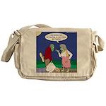 Zombie Atkins Diet Messenger Bag
