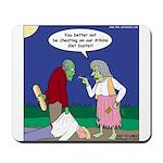 Zombie Atkins Diet Mousepad