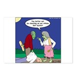 Zombie Atkins Diet Postcards (Package of 8)