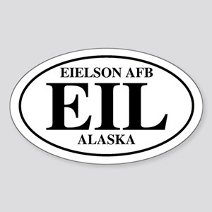 Eielson Air Force Base Oval Sticker