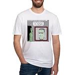 Frankenstein Zombie Fitted T-Shirt