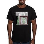 Frankenstein Zombie Men's Fitted T-Shirt (dark)
