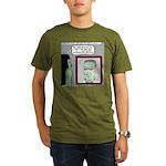 Frankenstein Zombie Organic Men's T-Shirt (dark)