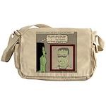 Frankenstein Zombie Messenger Bag