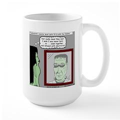 Frankenstein Zombie Large Mug