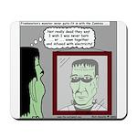 Frankenstein Zombie Mousepad