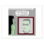 Frankenstein Zombie Small Poster