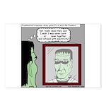 Frankenstein Zombie Postcards (Package of 8)