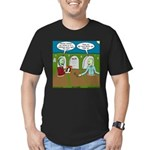 Zombie Halloween Party Men's Fitted T-Shirt (dark)