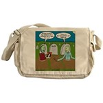 Zombie Halloween Party Messenger Bag