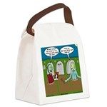 Zombie Halloween Party Canvas Lunch Bag
