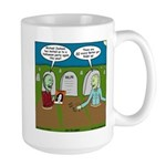 Zombie Halloween Party Large Mug