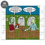Zombie Halloween Party Puzzle