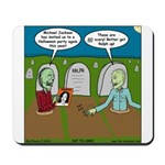 Zombie Halloween Party Mousepad