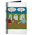 Zombie Halloween Party Journal
