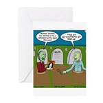 Zombie Halloween Party Greeting Cards (Pk of 10)
