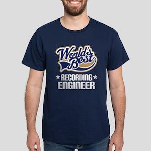 Recording Engineer (Worlds Best) Dark T-Shirt