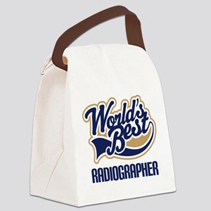 Radiographer (Worlds Best) Canvas Lunch Bag
