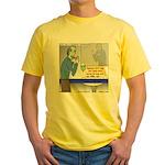 Zombie Restaurant Employees Yellow T-Shirt